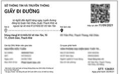 Muốn thêm giấy đi đường, doanh nghiệp Đà Nẵng cần làm gì?