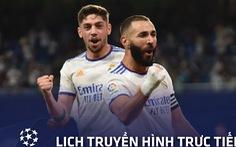 Lịch trực tiếp Champions League 16-9: 'Dậy sóng' với 3 trận đấu hay