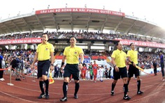 Sân Lạch Tray khó có thể tổ chức vòng loại World Cup 2022