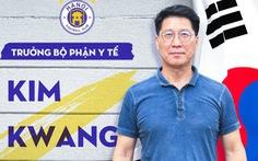 Ông Kim Kwang Jae đảm nhiệm trưởng bộ phận y tế CLB Hà Nội
