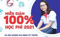 Trường Cao đẳng Sài Gòn Gia Định miễn giảm 100% học phí HK1