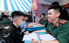 Điểm chuẩn khối trường quân đội: Những ngành 'hot' đều 28 hoặc 29 điểm trở lên