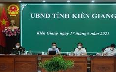 Làm việc với Phó thủ tướng: Kiên Giang phấn đấu đến 25-9 kiểm soát dịch COVID-19
