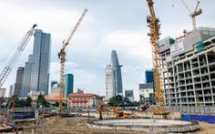 Thứ trưởng Bộ Xây dựng kiểm tra công trường nhà ga metro Bến Thành