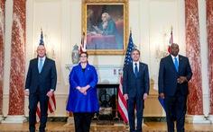 Mỹ - Úc ra tuyên bố phản đối yêu sách hàng hải của Trung Quốc ở Biển Đông
