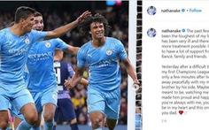 Cha của hậu vệ Nathan Ake qua đời chỉ vài phút sau khi anh ghi bàn ở Champions League