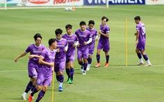 Tiền vệ Đức Huy: 'Đội tuyển Việt Nam nỗ lực giành kết quả tốt trước Trung Quốc'