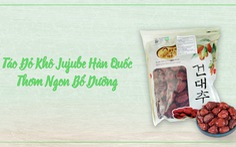 Táo đỏ khô Jujube Hàn Quốc chính hãng ngon và bổ dưỡng