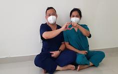 Những cặp vợ chồng nơi tuyến đầu chống dịch