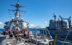 Máy bay, tàu chiến Mỹ, Trung xuất hiện cùng ngày tại eo biển Đài Loan