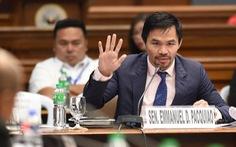 Ngôi sao quyền anh Pacquiao tranh cử tổng thống Philippines vào năm sau