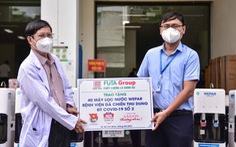144 máy lọc nước chi viện cho 3 bệnh viện điều trị COVID-19