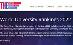 Top 5 đại học của Việt Nam trên bảng Times Higher Education năm 2022