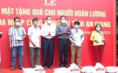 An Giang tổ chức gặp mặt, tặng 471 phần quà cho người hoàn lương tái hòa nhập cộng đồng