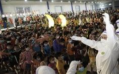 Lễ Trung thu đặc biệt của 1.200 trẻ em F0 trong khu điều trị lớn nhất Bình Dương