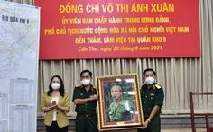 Phó chủ tịch nước Võ Thị Ánh Xuân thăm, làm việc tại Quân khu 9