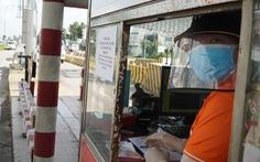 Nhân viên được chích ngừa 100%, trạm thu phí cầu Rạch Miễu hoạt động trở lại
