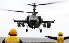 Trung Quốc tính đưa 'cá sấu' Ka-52 lên tàu đổ bộ trực chiến Biển Đông
