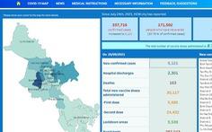 TP.HCM ra mắt phiên bản tiếng Anh của Cổng thông tin COVID-19