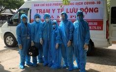 An Giang: Biến 156 xe cứu thương thành 'trạm y tế lưu động' phòng chống dịch