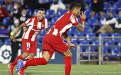 Suarez tỏa sáng, Atletico Madrid thắng ngược Getafe ở phút bù giờ