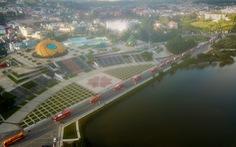 Hình ảnh đoàn xe VIP của Lâm Đồng hoàn thành chở 6.000 tấn nông sản tặng miền Nam