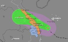 Phó thủ tướng họp khẩn ứng phó bão số 6, nhiều tỉnh miền Trung có nguy cơ ngập lụt