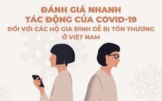 Infographic đánh giá tác động của COVID-19 với các gia đình dễ bị tổn thương ở Việt Nam
