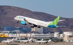 Bamboo Airways đón chuyến bay thẳng không dừng Việt - Mỹ đầu tiên tại sân bay San Francisco