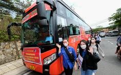 Đội tình nguyện từ Lâm Đồng hỗ trợ TP.HCM chống dịch: Hứa 'hết dịch mới về'