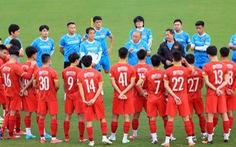 Tuyển Việt Nam chốt 27 cầu thủ sang UAE đấu Trung Quốc
