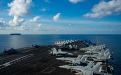 Lần thứ hai trong năm, tàu sân bay Mỹ trở lại Biển Đông