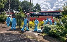 An Giang đón 232 công dân từ vùng dịch về, trong đó có 190 phụ nữ mang thai
