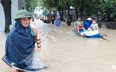 Mưa lớn kéo dài thêm 2 ngày, 18 huyện ở Nghệ An, Hà Tĩnh có nguy cơ ngập lụt
