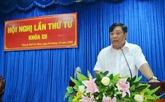 Bí thư Thành ủy Cà Mau giữ chức phó bí thư Tỉnh ủy Cà Mau