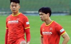 Công Phượng ghi 4 bàn sau 3 trận đấu tập cho tuyển Việt Nam