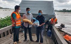Huy động dân túc trực tổ, chốt ven sông Hậu để kiểm soát dịch COVID-19
