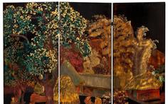 Sotheby's rút bình phong 'Nhà tranh gốc mít' nghi giả tranh Nguyễn Văn Tỵ khỏi đấu giá