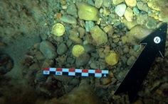 Phát hiện tiền xu La Mã ở bờ biển Tây Ban Nha