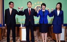 Đảng cầm quyền Nhật chọn cựu ngoại trưởng Kishida Fumio làm tân Thủ tướng