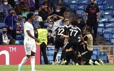 Địa chấn tại Bernabeu: 'Đội bóng tí hon' Sheriff quật ngã Real Madrid