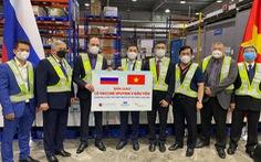 Lô vắc xin Sputnik V đầu tiên về Việt Nam
