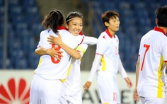 Vòng loại Asian Cup nữ 2022: Tuyển nữ Việt Nam thắng để lấy vé