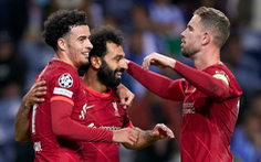 Video các bàn thắng giúp Liverpool 'vùi dập' Porto 5-1