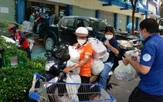 Tổ 970: Phường 12, Bình Thạnh giảm 'đi chợ hộ', thay bằng online combo cho dân