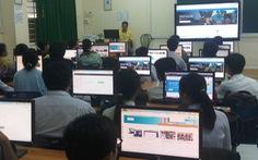 Trường huyện nhận 'điển hình Microsoft'