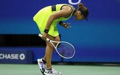 Bị loại ở Mỹ mở rộng, Osaka khóc lóc tuyên bố 'nghỉ chơi quần vợt'