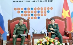 Nga mong muốn Bộ Quốc phòng Việt Nam ủng hộ Army Games