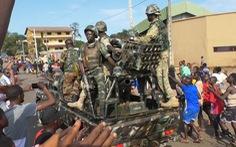 Quân đội Guinea ban bố tình trạng khẩn cấp sau đảo chính