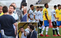 Được mời trở lại sân thi đấu, Messi giận dữ: 'Đây là mớ hỗn độn. Chúng tôi nghỉ'